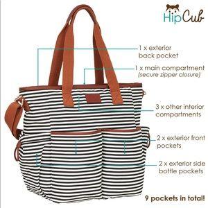 Hip Cub Diaper Bag